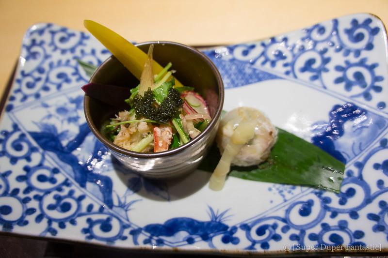 Omakase - Lobster Snow Crab Salad