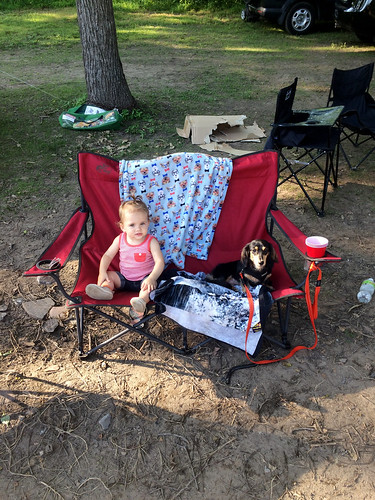 Hazel's First Camping Trip