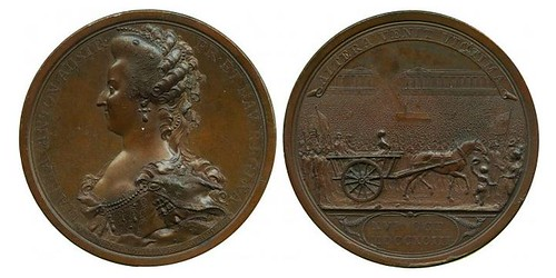 1793 Execution of Marie Antoinette medal