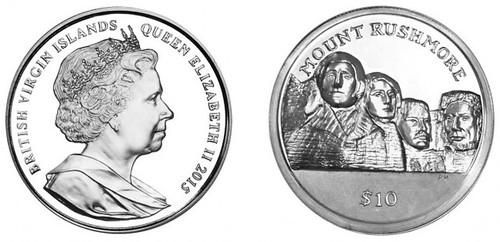 Pobjoy Mt Rushmore coin