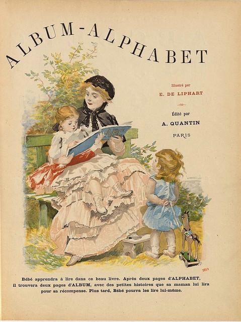 001-Portada-Album-alphabet illustre-1885- E. de Liphart-BNF