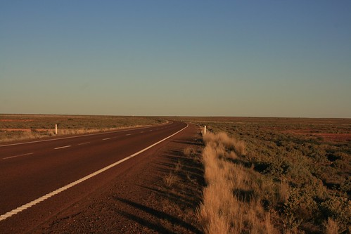 Sturt Highway South of Coober Pedy
