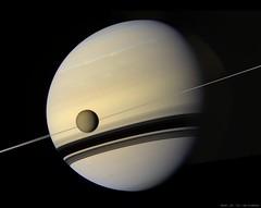 Titan before Saturn