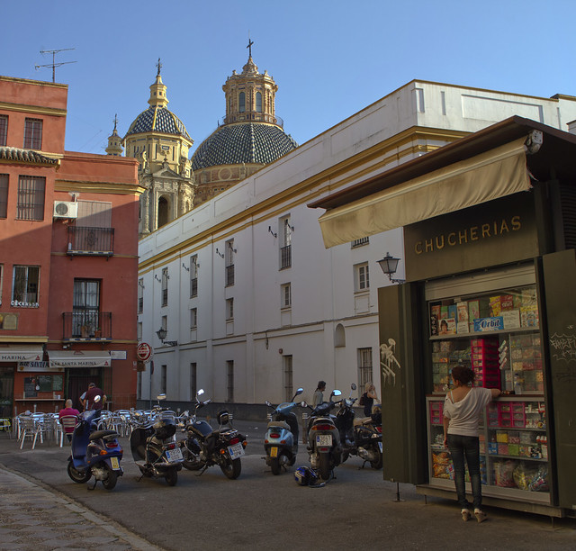 Chucherias.  Sevilla, Andalucia (2015)