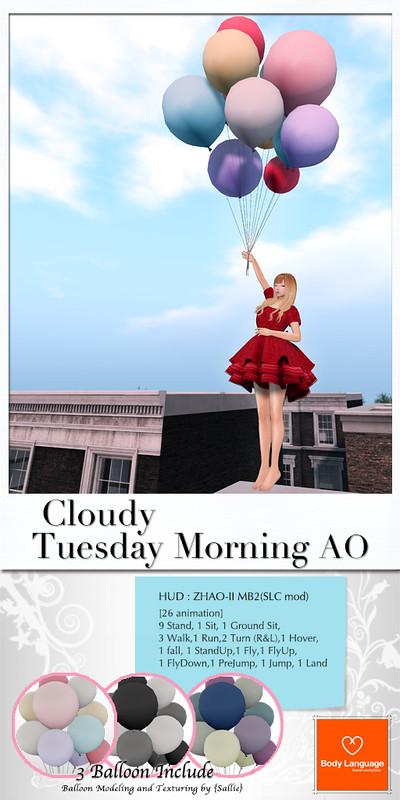 Cloudy Tuesday Morning AO @ C88