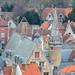 Manor behind the houses - Brugge/Bruges