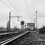 Railway bridge with water tower (2)