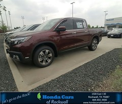 Congratulations Rhodney on your #Honda #Ridgeline from Terry North at Honda Cars of Rockwall!