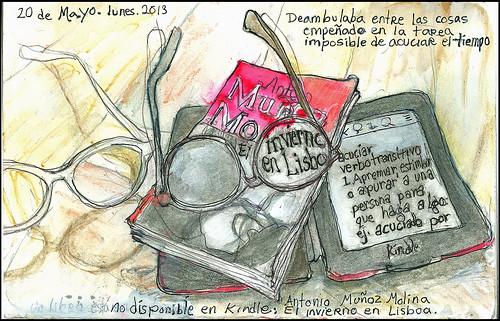 No disponible en Kindle: Invierno en Lisboa por Antonio Muñoz Molina. 20 de mayo, 2013. (Not available on Kindle.)