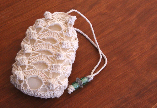 Crochet Lace Soap Sachet