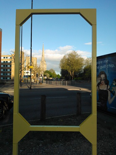 A frame of St Mary Redcliffe