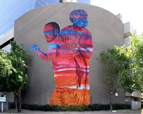 Generations Mural - JBAK - Found in Phoenix, Arizona