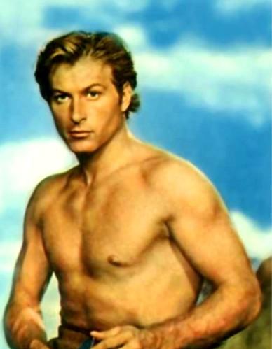 Lex Barker - a 1950s Tarzan actor