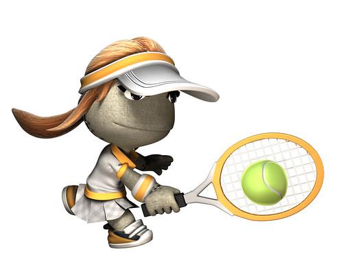 Tennis Girl Pose