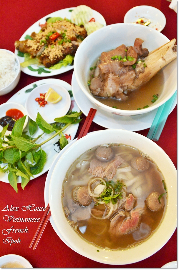 Alex House @ Ipoh - Vietnamese & French