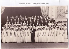 Gawler Barossa Oratorio Choir 1953