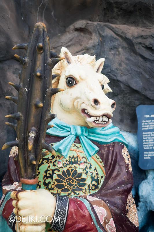 Haw Par Villa - horse face