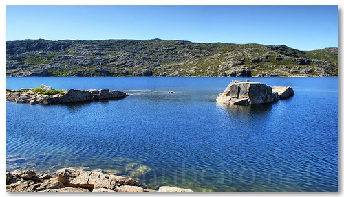 Lagoa comprida na Serra da Estrela by VRfoto