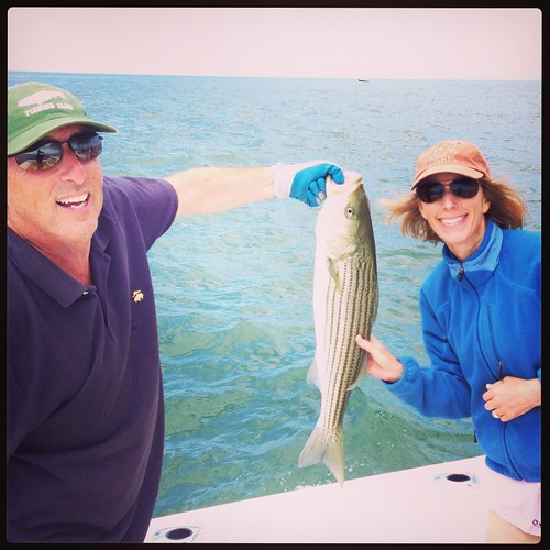 fishing for striped bass on Nantucket
