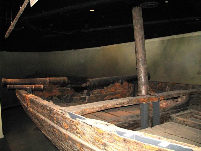 NMAH040 - American War of Independence (1775-1783) - American - Continental Gunboat 'Philadelphia' - 1776