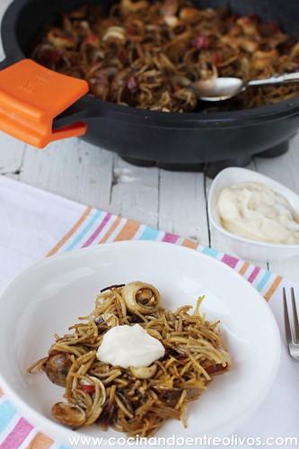 Fideua y degustabox www.cocinandoentreolivos (2)