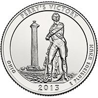 25 Centov USA 2013, Perry's Victory