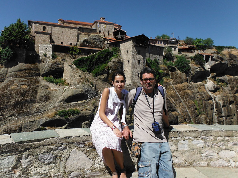Monasterio Gran Meteora en Grecia.