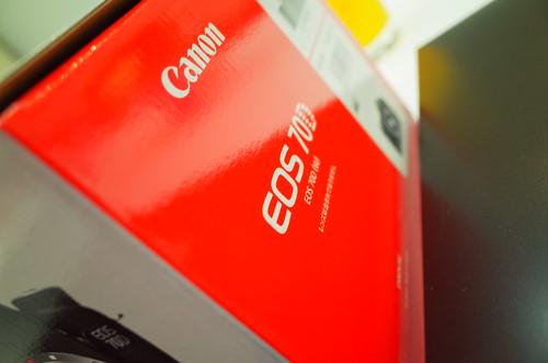 Canon EOS 70D box