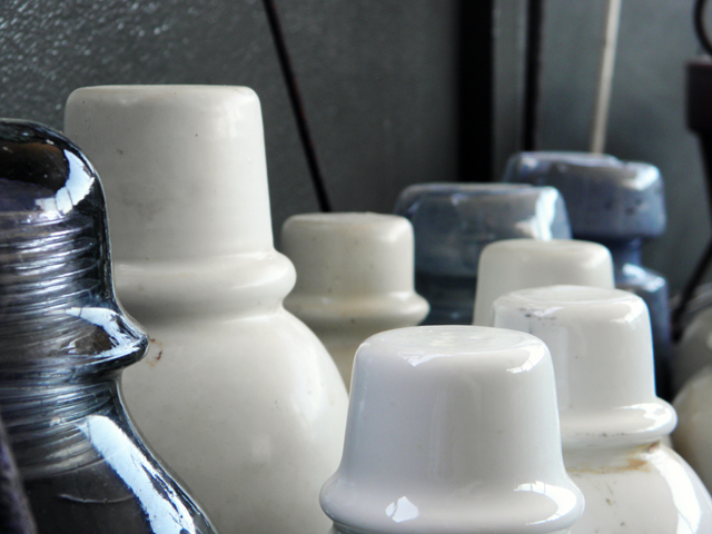 Ceramic and glass insulators
