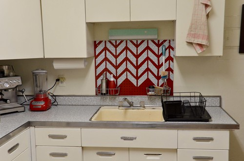 Pegboard Backsplash, Look #2