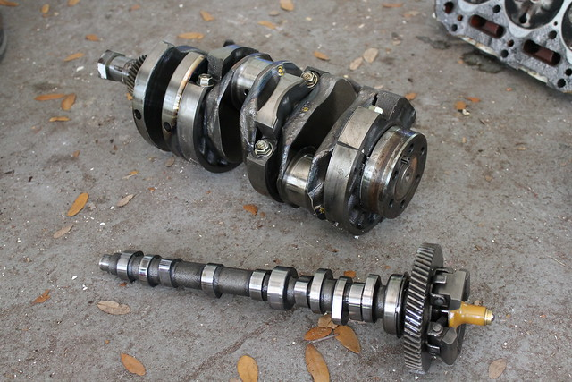Crank and Camshaft