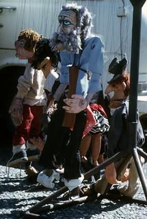 Puppets at Bumbershoot, 1974