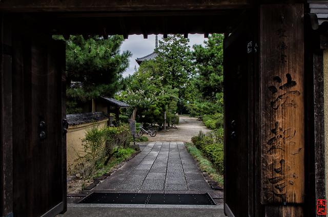 「法起寺」 法起寺 - 奈良