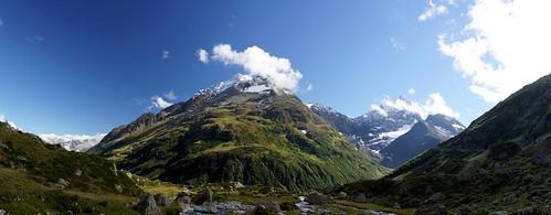 summer mountains landscape a65