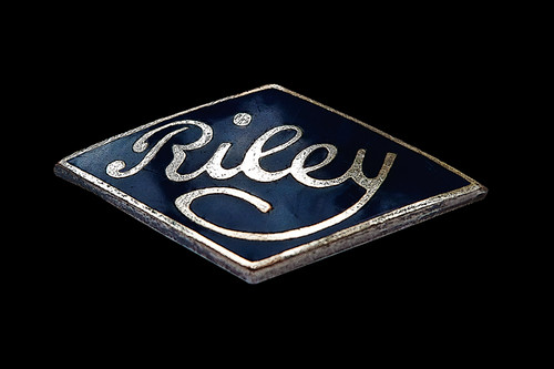 Riley Motor, 'Diamond Badge'  c1930s