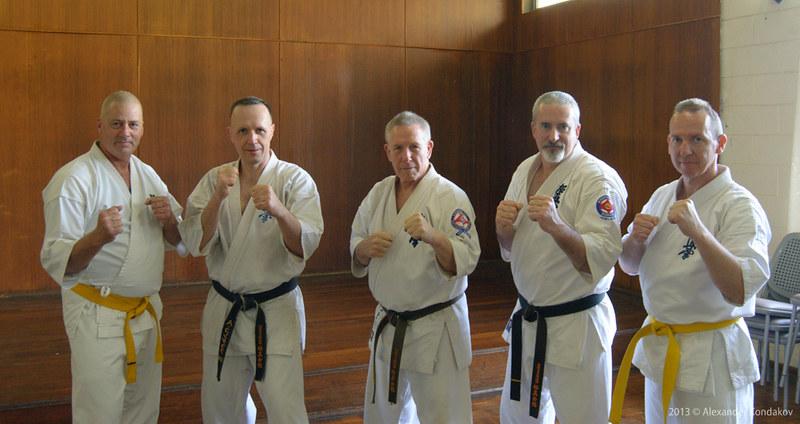 Kyokushin Karate Spring Camp 2013 Adelaide