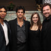 Carlos Acosta, Thiago Soares, Marianela Nuñez and Bryan Hymel at the ROH Cinema Season 2013/14 launch © ROH