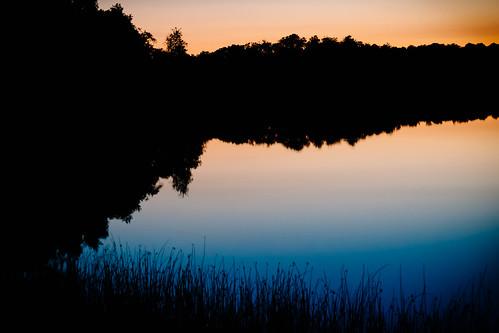 sunset summer lake reflection silhouette sverige f12 57mm 2013 skånelän xpro1 konicahexanonar kiponadapter vscofilm04 ffujifortiasp