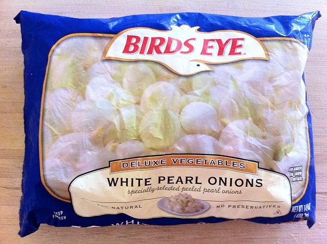 Frozen White Pearl Onions