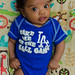 They are 2-0 when Xavier wears one of his Dodgers onesies by Melanism.com