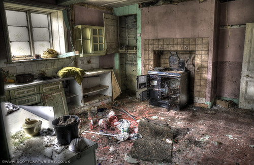 Abandoned Kitchen HDR
