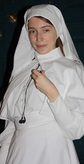 nun, white, woman, female, person,