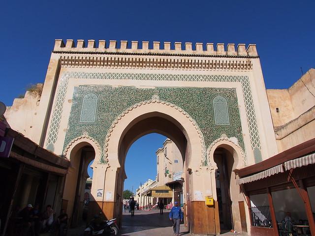 FES的古城門