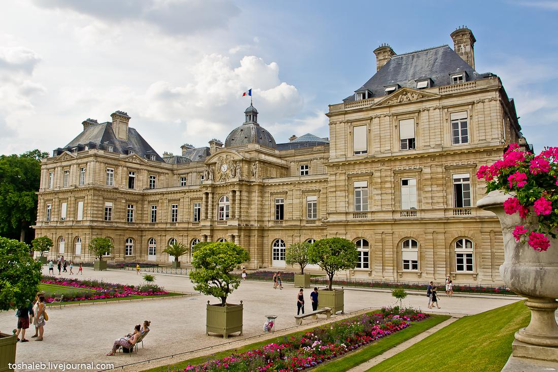 Люксембургские сады-17