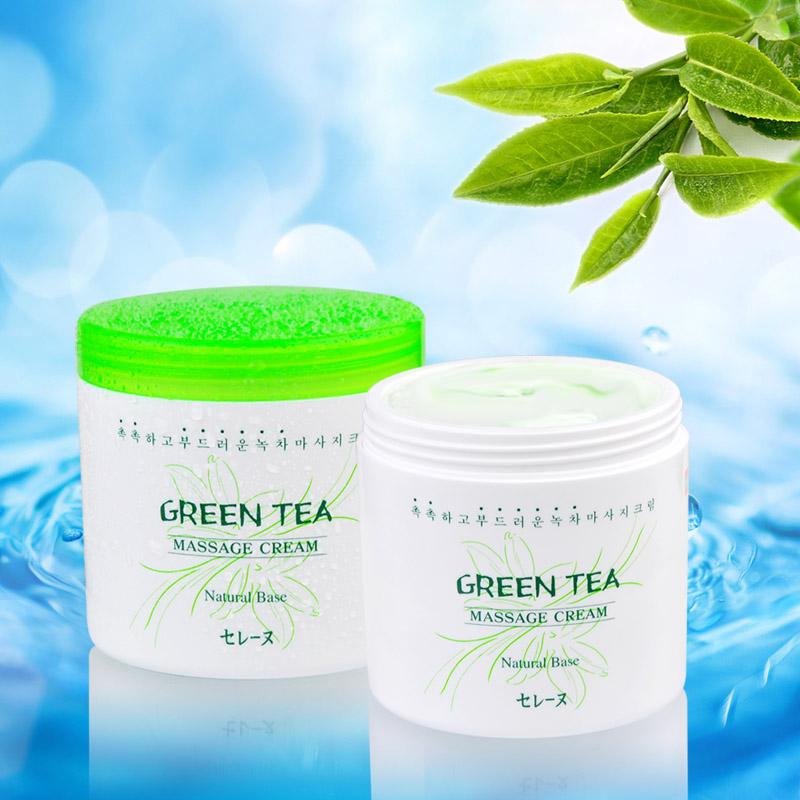 Kem massage trà xanh