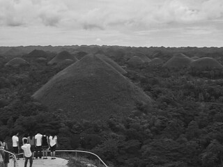 Bohol - Chocolate Hills viewing deck