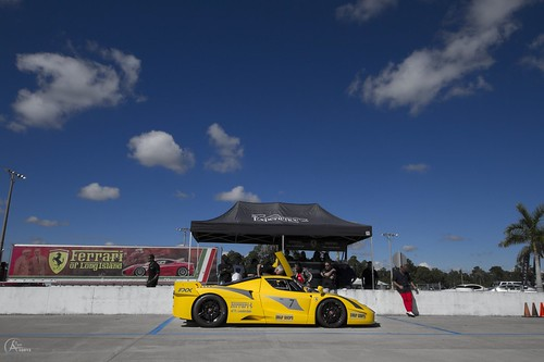 Track day for the FXX by Savage Land Pictures
