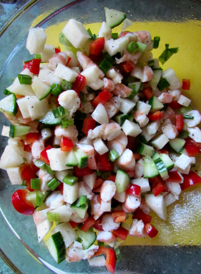 Shrimp Ceviche Mixed