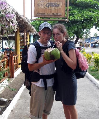 Monterico, Guatemala coconut