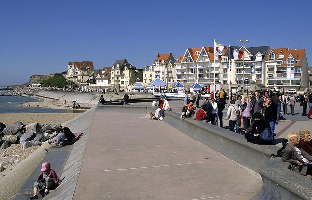 Wimereux, front de mer